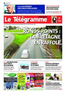 Le Télégramme Brest Abers Iroise – 01 décembre 2019
