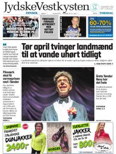 JydskeVestkysten Tønder – 25. april 2019