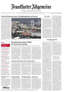 Frankfurter Allgemeine Zeitung F.A.Z. - 15. August 2018