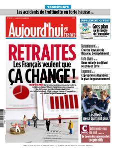 Aujourd'hui en France du Jeudi 11 Octobre 2018