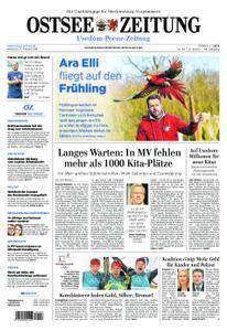 Ostsee Zeitung Wolgast - 21. Februar 2018