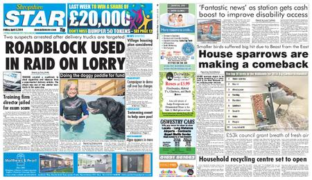 Shropshire Star Shrewsbury Edition – April 05, 2019