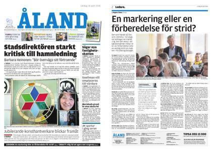 Ålandstidningen – 28 april 2018