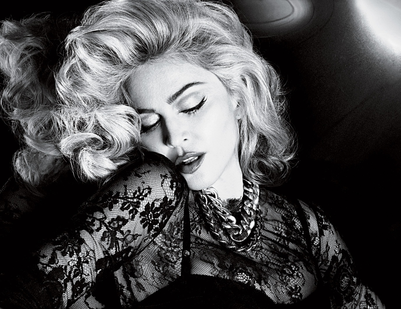 Madonna by Mert Alas & Marcus Piggott for Interview Magazine May 2010