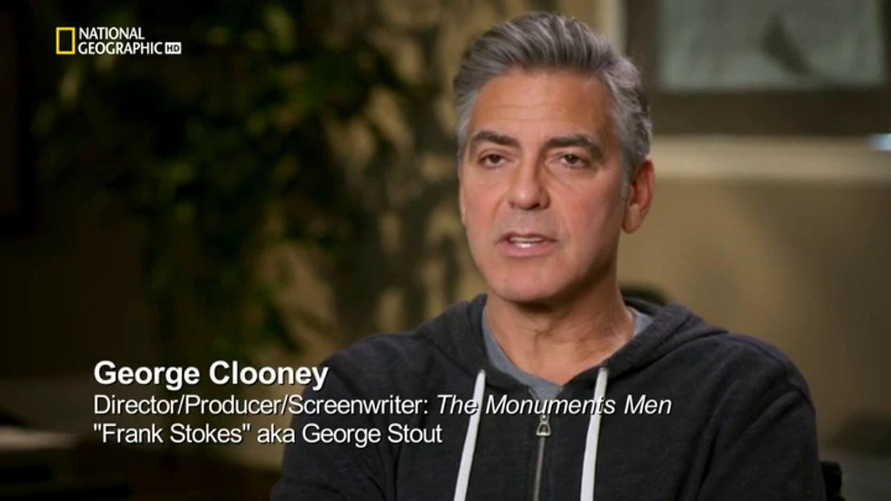 National Geographic - Hunting Hitler's Stolen Treasures: The Monuments Men (2014)