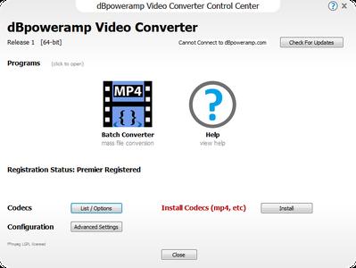 dBpoweramp Video Converter R1.7 Premier 1.7.0.1