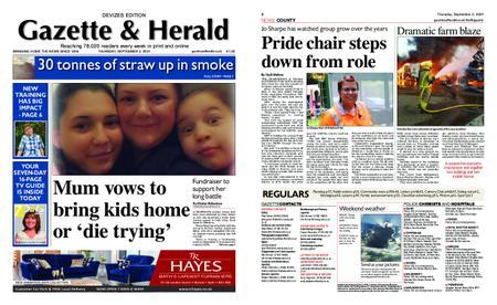 Gazette & Herald – September 02, 2021