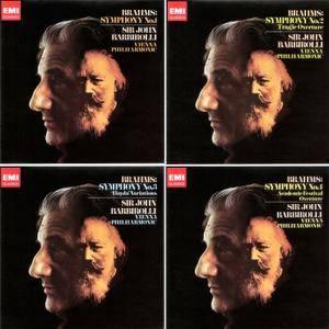 John Barbirolli, Vienna Philharmonic - Brahms: Complete Symphonies (1968) [Japan 2012] PS3 ISO + Hi-Res FLAC