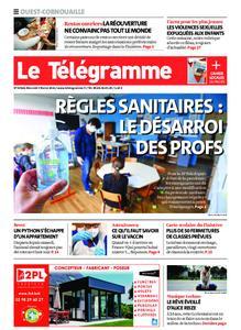 Le Télégramme Ouest Cornouaille – 03 février 2021