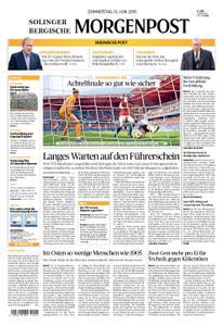 Solinger Morgenpost – 13. Juni 2019