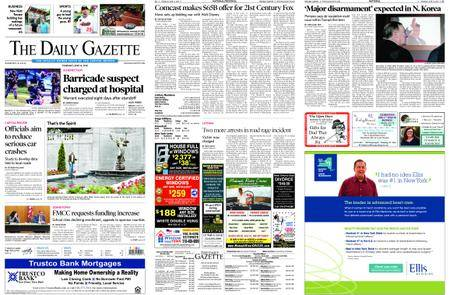 The Daily Gazette – June 14, 2018