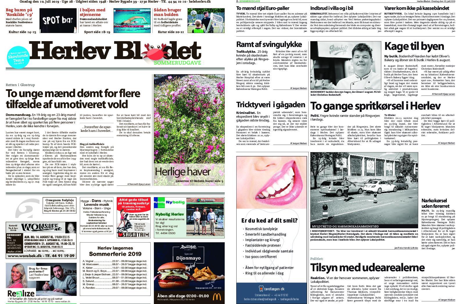 Herlev Bladet 09 Juli 2019 Avaxhome