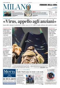 Corriere della Sera Milano – 02 marzo 2020