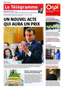 Le Télégramme Auray – 26 avril 2019