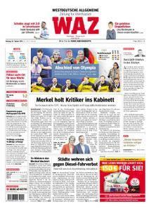 WAZ Westdeutsche Allgemeine Zeitung Oberhausen-Sterkrade - 26. Februar 2018