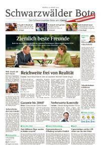 Schwarzwälder Bote Blumberg - 20. August 2018