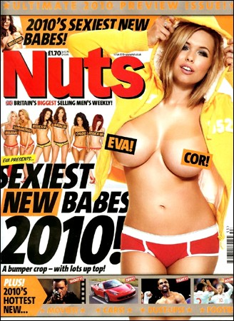 Eva presents the Sexiest New Babes 2010 - Nuts Magazine (1-7 January 2010)