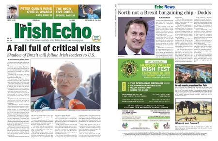 The Irish Echo – September 17, 2019