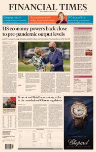 Financial Times Europe - April 30, 2021