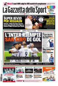 La Gazzetta dello Sport Roma – 14 gennaio 2019