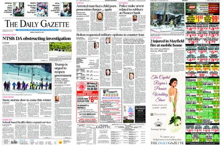 The Daily Gazette – January 14, 2019