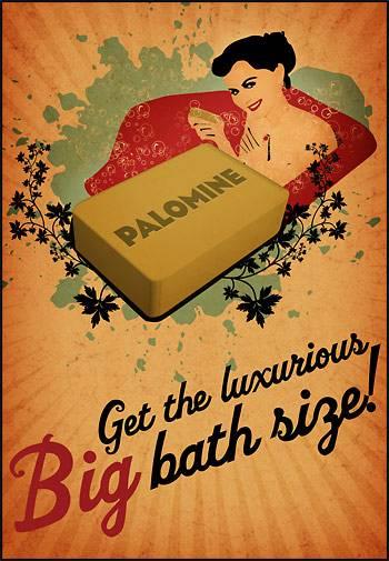 Palomine - Get the luxurious BIG bath size - 2007
