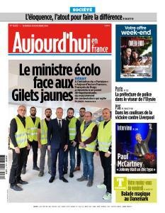 Aujourd'hui en France du Vendredi 30 Novembre 2018