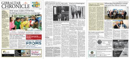 Gibraltar Chronicle – 22 May 2019