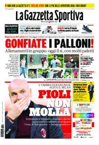 La Gazzetta dello Sport Roma – 10 maggio 2020