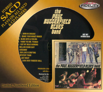 The Butterfield Blues Band - The Paul Butterfield Blues Band (1965) [Audio Fidelity 2014] PS3 ISO + Hi-Res FLAC