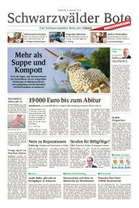 Schwarzwälder Bote St. Georgen, Triberg, Furtwangen - 31. August 2019