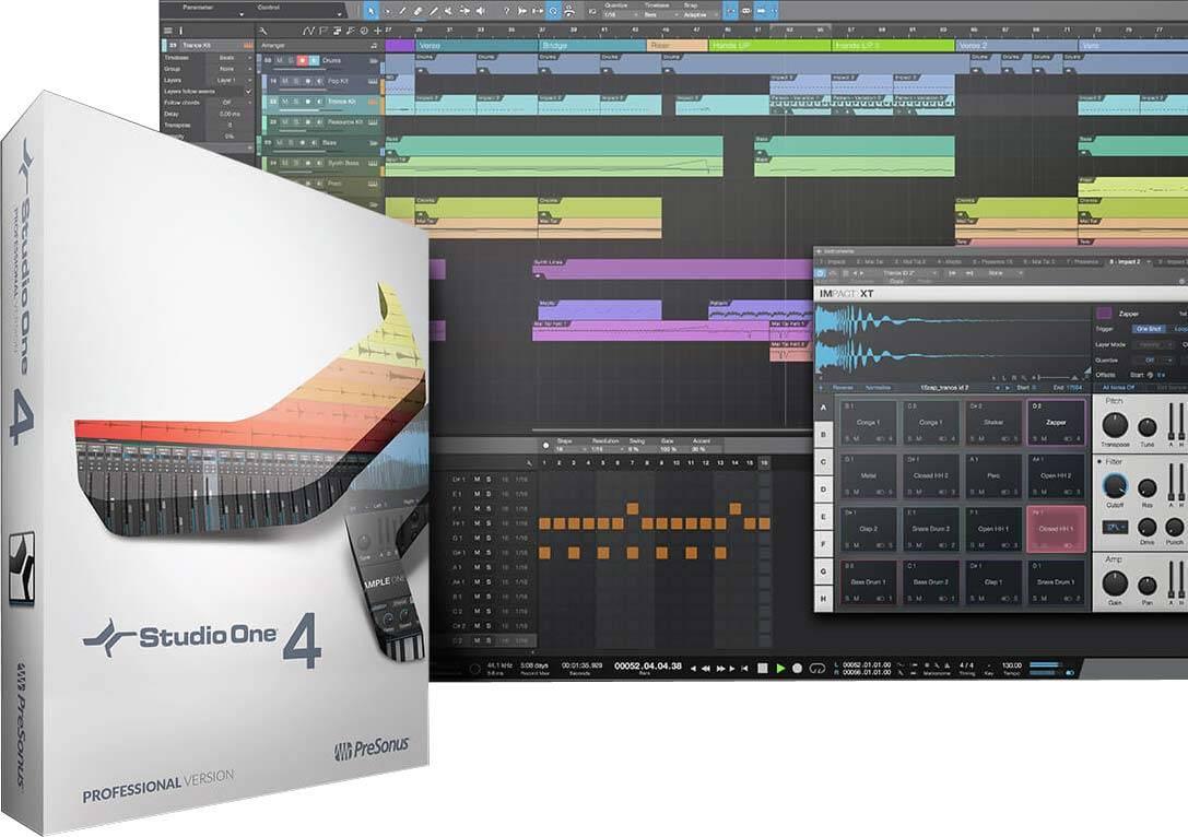 PreSonus Studio One 4 Professional v4.5.1 WiN / OSX