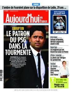 Aujourd'hui en France – 24 mai 2019