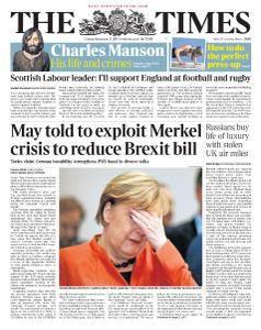 The Times - 21 November 2017