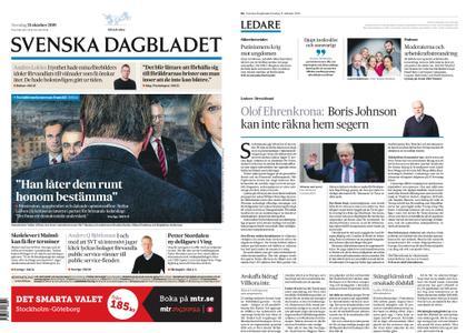 Svenska Dagbladet – 31 oktober 2019