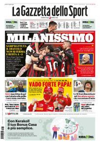 La Gazzetta dello Sport Roma – 07 dicembre 2020