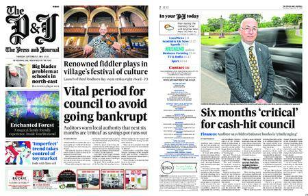 The Press and Journal Moray – September 27, 2018