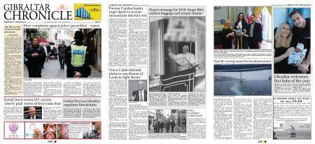 Gibraltar Chronicle – 03 January 2018