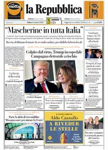 la Repubblica - 3 Ottobre 2020