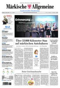 Märkische Allgemeine Luckenwalder Rundschau - 18. Januar 2019