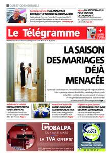 Le Télégramme Ouest Cornouaille – 15 mars 2021