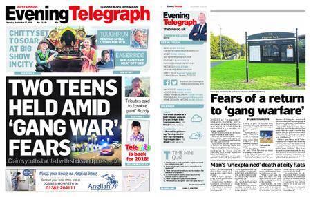 Evening Telegraph First Edition – September 27, 2018