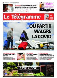 Le Télégramme Brest Abers Iroise – 15 octobre 2021