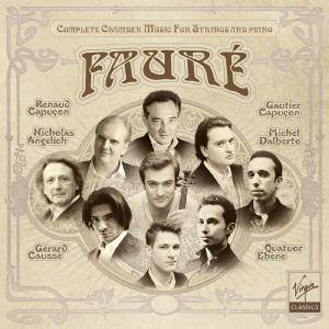 Gabriel Faure - Complete Chamber Music For Strings And Piano (2011) (5CD Box Set)