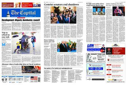 The Capital – January 23, 2018