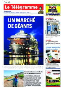 Le Télégramme Brest Abers Iroise – 12 août 2019