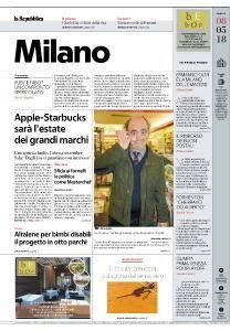 la Repubblica Milano - 8 Maggio 2018