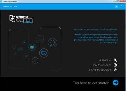 MOBILedit Phone Copier Express 4.3.0.13028