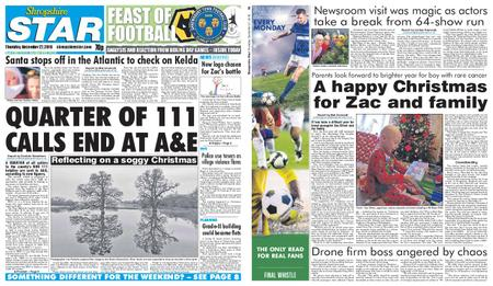 Shropshire Star Shrewsbury Edition – December 27, 2018