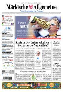 Neue Oranienburger Zeitung - 23. Juni 2018